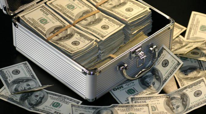 peníze - experiment